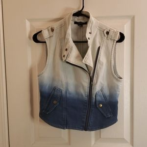 Forever 21 Jean Vest Size Small